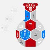 Icônes médicaux — Vecteur