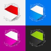 Polygon symbol — Stock Vector