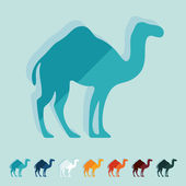 Camel illustration — Stock Vector