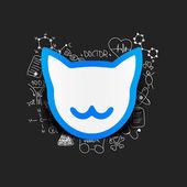 Cat illustration — Stock Vector