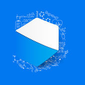 Polygon illustration — Stock Vector