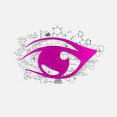 Eye illustration — Stock Vector