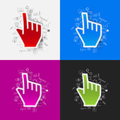 Hand illustration — Stock Vector