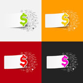 Money illustration — Stock Vector