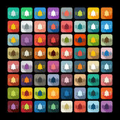 Bell icons — Stock Vector