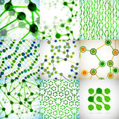 Structure DNA molecule — Stock Vector