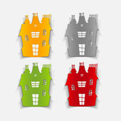 Design element: house — Stock Vector