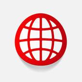 Design element: globe — Vector de stock