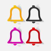 Bells set — Stock Vector