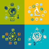Education illustration — Stock Vector
