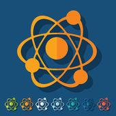 Atom illustration — Stock Vector