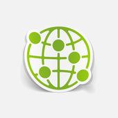 全球图 — 图库矢量图片