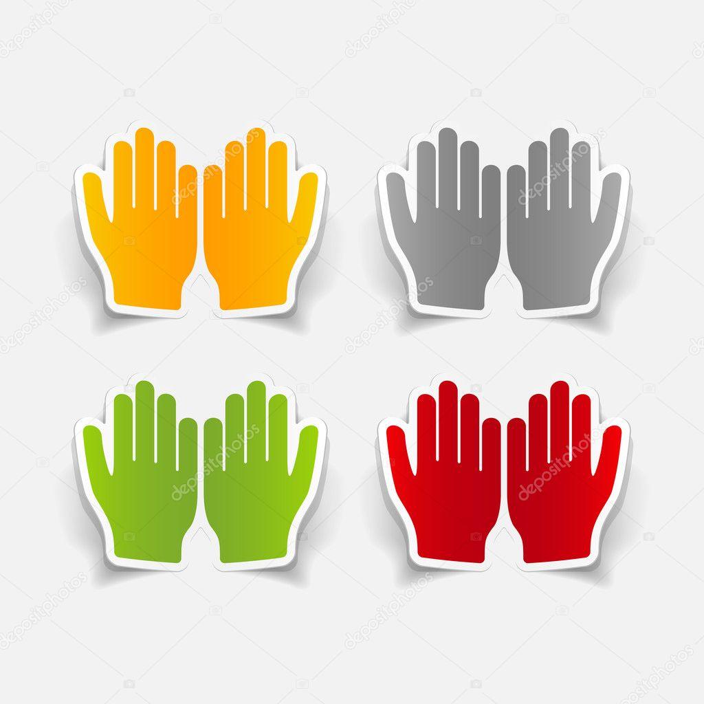 祷告的手 — 图库矢量图像08 palau83 #51569531