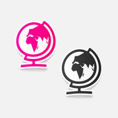 Globe illustration — Stock Vector