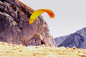 Paragliding — Stock Photo