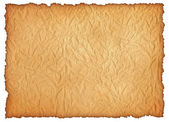Wrinkly old paper sheet. Digital graphic, high quality. XXL size — Stock Photo
