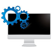 Computer and information mechanisms — Stock Photo