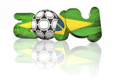2014 fifa world cup brazil — Stock Photo