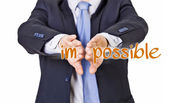 Possible businessman — Stock Photo
