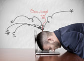Work and stress — Stock Photo
