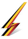 Belgium arrow — Stock Vector