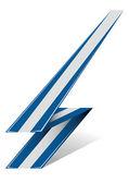 Greece arrow — Stock Vector
