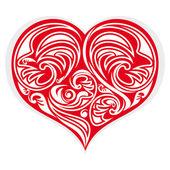 Heart stylized — Stock Vector