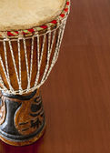 African djembe — Stock Photo
