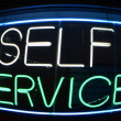 Self Service — Stock Photo