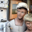 Vintage Boy Mannequins — Stock Photo #19502787