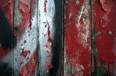 Red Paint Peeling — Stock Photo
