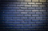 青砖砌成墙 — 图库照片