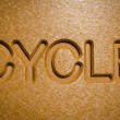 Cycle sign — Stock Photo
