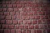 Red brick wall background — Stockfoto