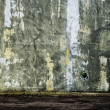 Foto Stock: Grunge grey wall