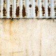 Corrugated metal texture — Stock Photo