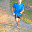 Mature Man Jogging — Stock fotografie