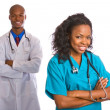Young African-American Doctor — Stock Photo