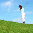 Stock Photo: Female Golfer