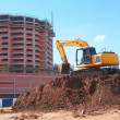 Yellow Excavation Machine At Site — Stock Photo #29920849