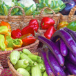Fresh Vegetables For Sale — Stock Photo
