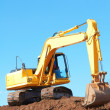 Excavation Machine Loading Soil — Stock Photo #29920983