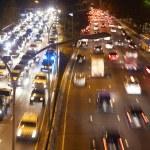 Traffic On Motorway — Stock Photo