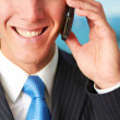 Businessman On a Phone Call — Stock Photo