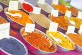 Dried Spices At the Market For Sale — Stockfoto