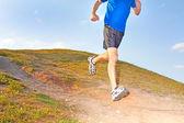 慢跑的成熟男人 — 图库照片