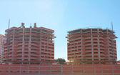 Buildings Under Construction — Stock Photo