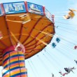 Stock Photo: Carnival Swing Ride