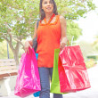 Trendy Woman With Shopping Bags — Stock Photo #30429851