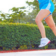 Female Jogging In Park — Stockfoto